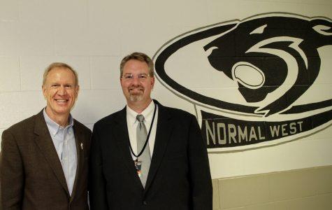 Rauner visits NCWHS