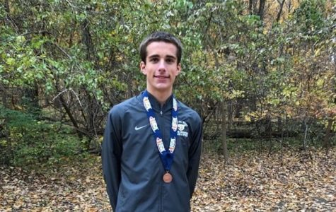 Wetzel places in top 10 at state meet