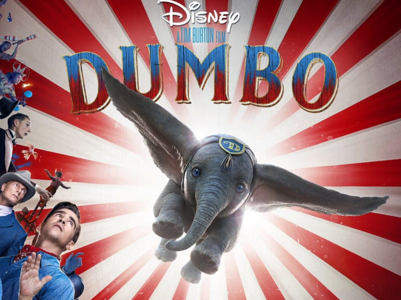 The+live-action+%22Dumbo%22+will+appear+on+the+big+screens+in+March+of+2019.+
